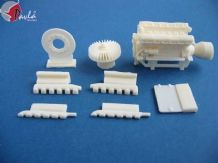 Pavla M35005 1/35 Resin Engine V-2 for tanks T-34, IS-2,SP for SU-85, SU-100